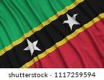 saint kitts and nevis flag  is...   Shutterstock . vector #1117259594