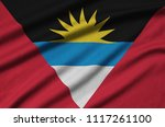 antigua and barbuda flag  is...   Shutterstock . vector #1117261100