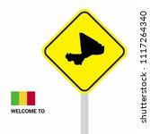 mali traffic signs board design ... | Shutterstock .eps vector #1117264340