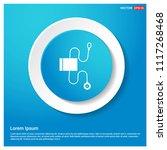 contour medical mechanical... | Shutterstock .eps vector #1117268468