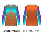 templates jersey for... | Shutterstock .eps vector #1117268744