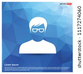 male user icon   free vector... | Shutterstock .eps vector #1117274060