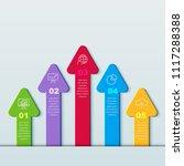 infographics business design...   Shutterstock .eps vector #1117288388