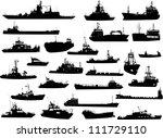 set of 26  twenty six ... | Shutterstock .eps vector #111729110