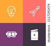 modern  simple vector icon set...   Shutterstock .eps vector #1117292474