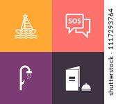 modern  simple vector icon set... | Shutterstock .eps vector #1117293764