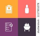 modern  simple vector icon set... | Shutterstock .eps vector #1117301078