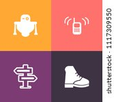 modern  simple vector icon set...   Shutterstock .eps vector #1117309550