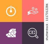 modern  simple vector icon set... | Shutterstock .eps vector #1117312286