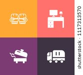 modern  simple vector icon set... | Shutterstock .eps vector #1117313570