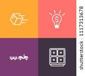 modern  simple vector icon set... | Shutterstock .eps vector #1117313678