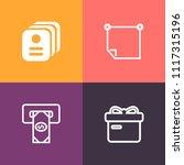 modern  simple vector icon set... | Shutterstock .eps vector #1117315196