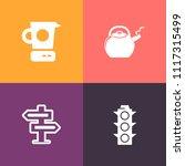 modern  simple vector icon set...   Shutterstock .eps vector #1117315499