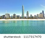 surfers paradise from above | Shutterstock . vector #1117317470