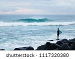 burleigh heads  gold coast ... | Shutterstock . vector #1117320380