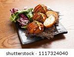 warm western cuisine | Shutterstock . vector #1117324040