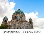 berliner dom  berlin cathedral  ... | Shutterstock . vector #1117324190
