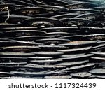 scrap car and machinery parts....   Shutterstock . vector #1117324439