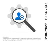 user insurance icon   free... | Shutterstock .eps vector #1117327430