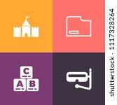modern  simple vector icon set...   Shutterstock .eps vector #1117328264