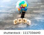 opec organization of the... | Shutterstock . vector #1117336640