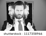 personality disorder. business... | Shutterstock . vector #1117358966