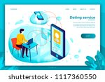 vector concept illustration  ... | Shutterstock .eps vector #1117360550