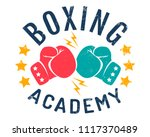 vector vintage emblem for a... | Shutterstock .eps vector #1117370489