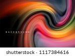 fluid liquid colors design ... | Shutterstock .eps vector #1117384616