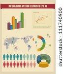 detail infographic vector... | Shutterstock .eps vector #111740900