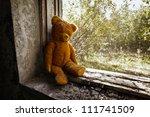 Sad Child Doll   Old Toy Bear...