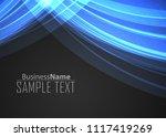 blue gradient covers design... | Shutterstock .eps vector #1117419269