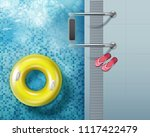 vector illustration of top view ... | Shutterstock .eps vector #1117422479