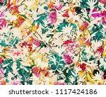 a painting and illustrative... | Shutterstock . vector #1117424186