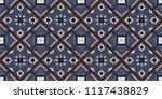 talavera pattern.  azulejos... | Shutterstock .eps vector #1117438829