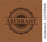 aberrant wooden emblem   Shutterstock .eps vector #1117439630