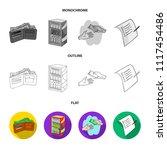 purchase  goods  shopping ... | Shutterstock .eps vector #1117454486