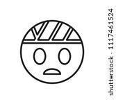 head bandage vector icon | Shutterstock .eps vector #1117461524