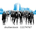 business people | Shutterstock .eps vector #11174767