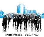 business people | Shutterstock .eps vector #11174767