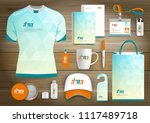corporate identity business ... | Shutterstock .eps vector #1117489718