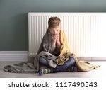 Sad little boy suffering from...