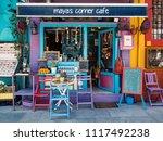 istanbul  turkey   circa april  ... | Shutterstock . vector #1117492238