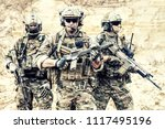 group portrait of us army elite ... | Shutterstock . vector #1117495196