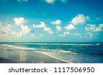 wave   sand beach background  ... | Shutterstock . vector #1117506950