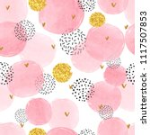 Seamless Dotted Pattern With...