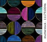 seamless geometric background...   Shutterstock .eps vector #1117510046