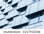 abstract fragment of modern...   Shutterstock . vector #1117512236