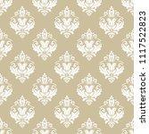orient vector classic pattern....   Shutterstock .eps vector #1117522823