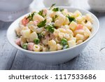 Homemade Macaroni Salad With...